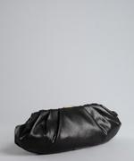 Bcbgmaxazria Black Leather 'Amelie' Large Slouchy Shoulder Bag 97